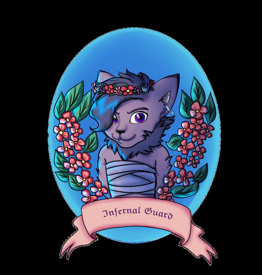 Infernal Guard by lizathehedgehog