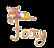 Sweet foxy by lizathehedgehog