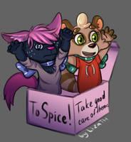 To Spice! by lizathehedgehog