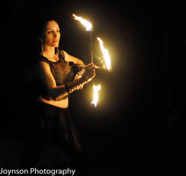 Fire Cross 2 by aliceinflames