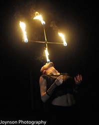 Fire eating stunt 1 by aliceinflames