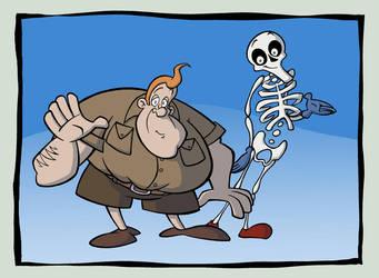 Bulk + Skeleton by Buml0r
