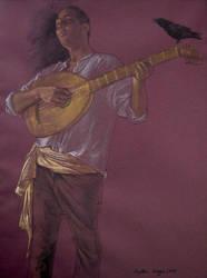 Praise - The Minstrel by angelicanoriega