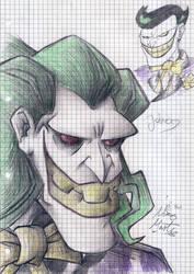 The Batman - Joker +notepad+ by kotaro91