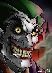 Time to make Gotham laugh by kotaro91