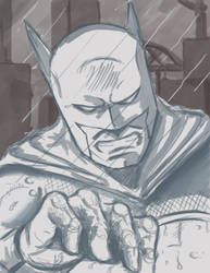 Quick Batman by MadMexicanMike
