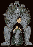 The Iron Throne by betaboystudios