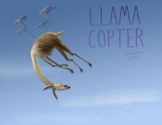 LLAMACOPTER by e-tahn