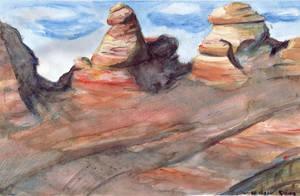 Desert Scene by e-tahn
