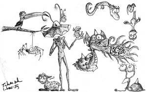 Kopa Critters by e-tahn