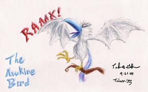 The Awking Bird by e-tahn