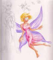 Terri the Fairy by e-tahn