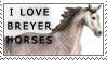 Breyer Horse stamp by aethlos