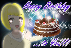 Aiko Happy Birthday by Daiger1975