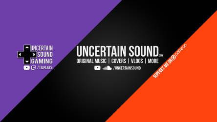 Twitter Header - Uncertain Sound (Oct. 2015) by UncertainSound