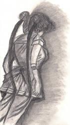 The World On Her Shoulders.... by sailormoonangel22