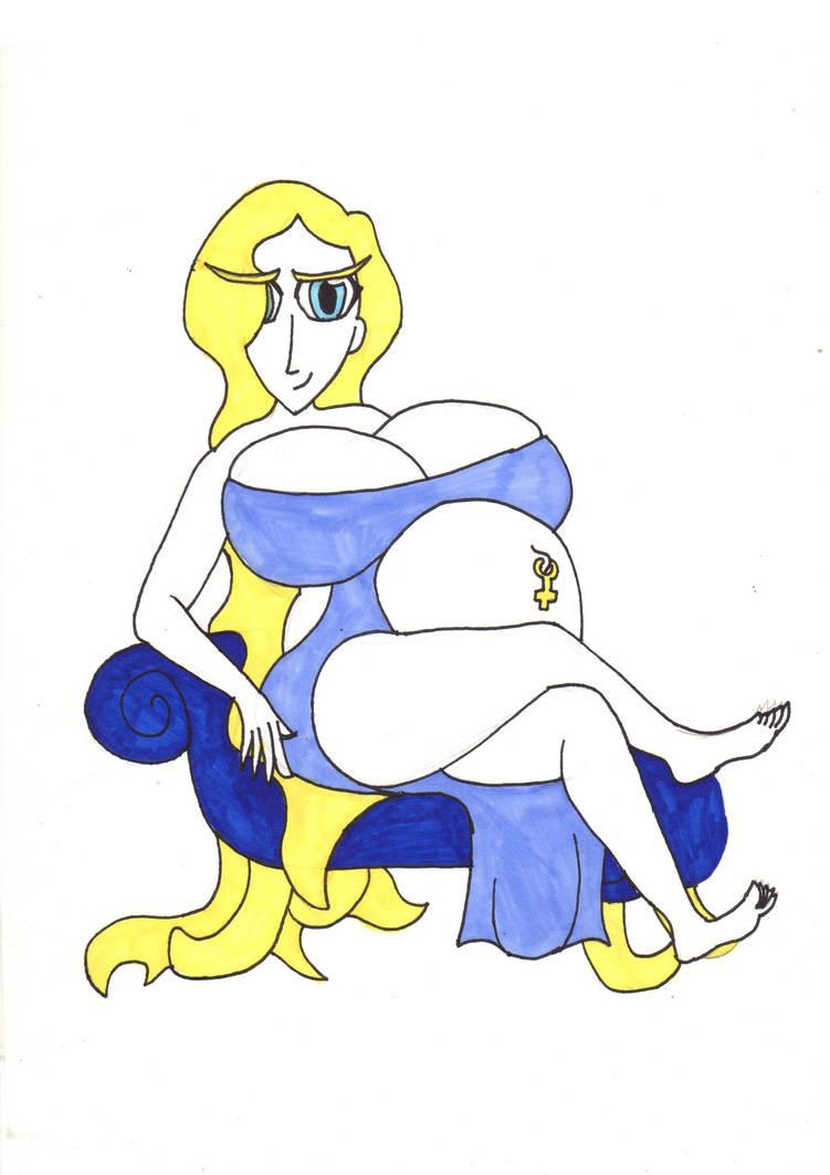 Goddess queen Shella by MrLazyInk