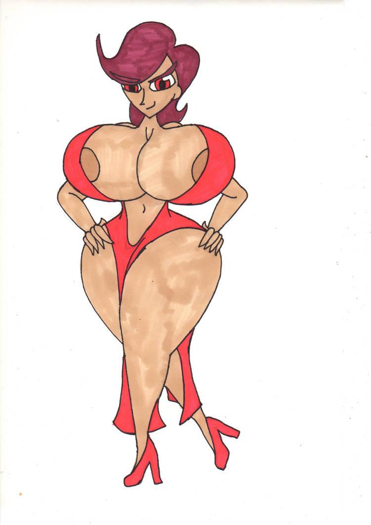 Goddess Ralla by MrLazyInk