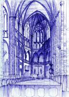 Saint Florian Cathedral in Warsaw. by KrystianWozniak