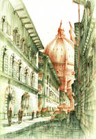 Florence. Santa Maria Del Fiore. by KrystianWozniak