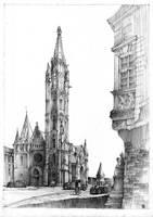 Matthias Church in Budapest by KrystianWozniak