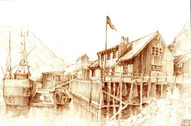 Skrova - Lofoten, Norway by KrystianWozniak