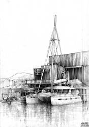 Skrova - Catamaran by KrystianWozniak