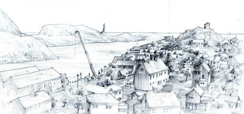 Skrova Panorama by KrystianWozniak