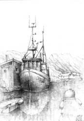 Skrova, Lofoten - The Cutter by KrystianWozniak