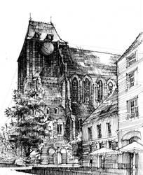 Torun - St.Johns'es Church Kosciol Swietych Janow by KrystianWozniak