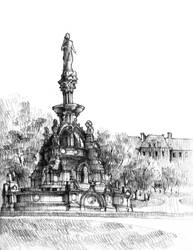 The Stewart Memorial Fountain by KrystianWozniak