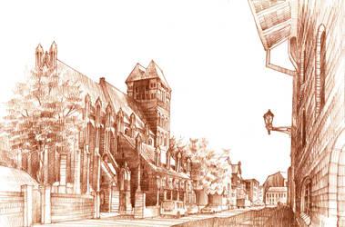 Torun - St. Jacob's church by KrystianWozniak