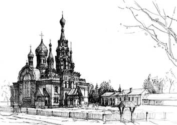Russian orthodox church by KrystianWozniak