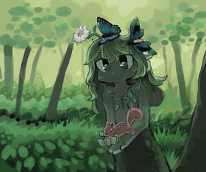 Dryad by Nameless-Ghost