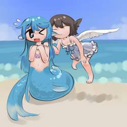 Mermaid by Nameless-Ghost