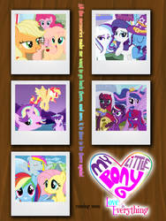 My Little Pony - Love is Everything Poster by robbieierubino