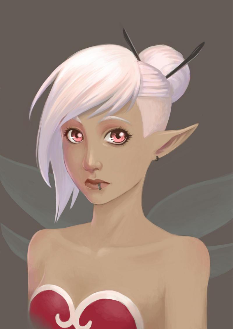 Inari Portrait by LiliLith