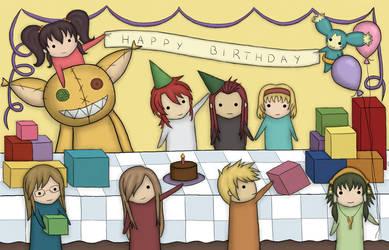 TotA - Happy Birthday by nephry
