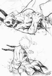 dragon chop by DaryaBler