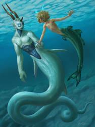 Mermaids by DaryaBler