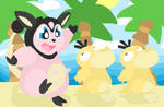 Psyduck Parade? by Giniqua