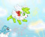 Re: Sky Shaymin Flight by Giniqua