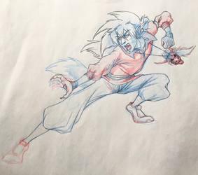 Vince sketch update  by ArtistMaz