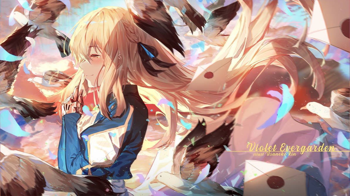 Violet evergarden by 0bakasan