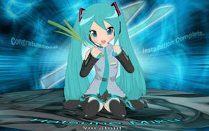 Cutesy Miku by Primantis