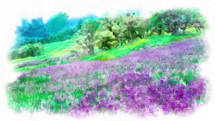 Nature Painting 2 by benbramleyartuk
