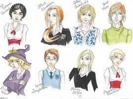 HP characters by Gueule-de-Loup