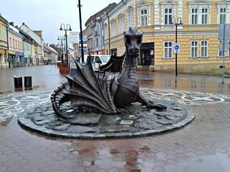 Dragon in Jicin 2 by Dreit