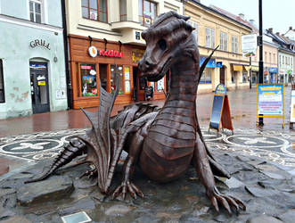 Dragon in Jicin 3 by Dreit