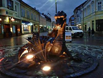 Dragon in Jicin 4 by Dreit